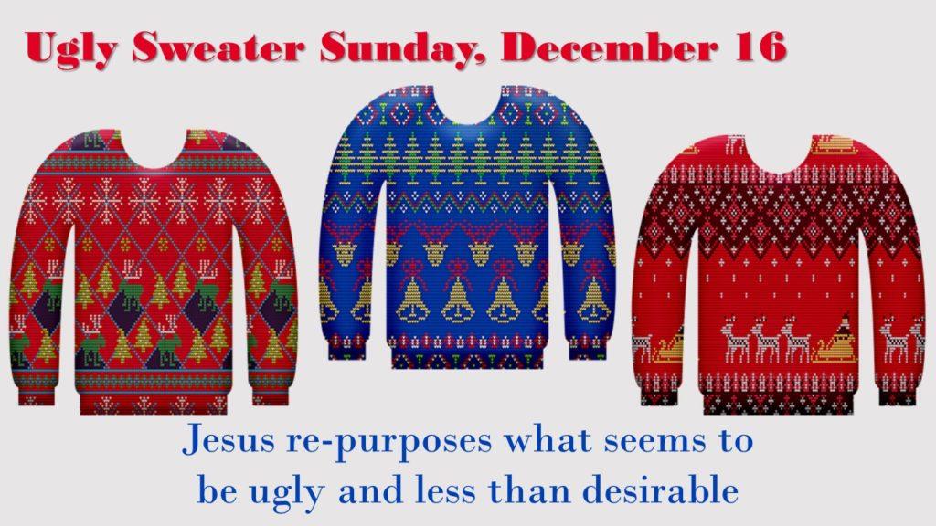 ugly sweater sunday